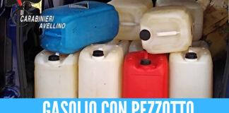 Gasolio e benzina miscelati e allungati, la truffa di due pregiudicati di Napoli scoperta dai carabinieri