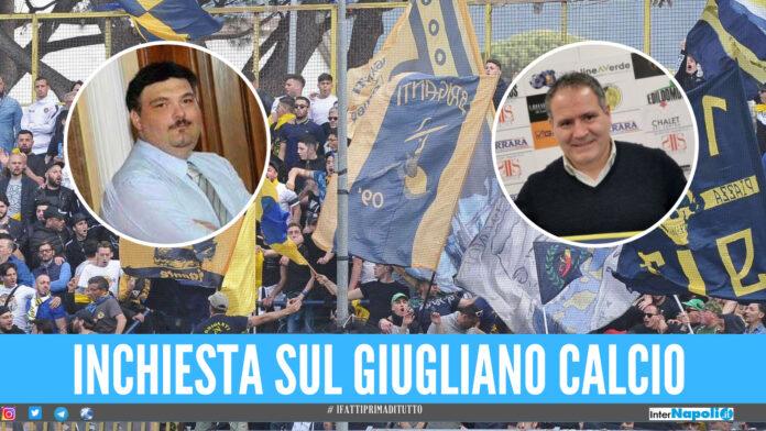 Minacce e bombe carta, 8 indagati a Giugliano: nel mirino l'ex presidente Palma e l'allenatore Imbimbo
