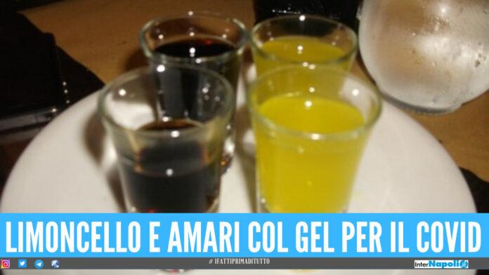 Limoncelli e amari prodotti con gel anti Covid, blitz in provincia di Napoli