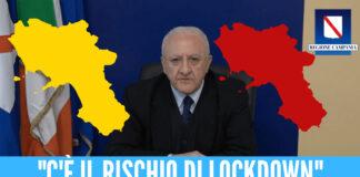 """lockdown Variante Delta, allarme focolai fra i giovani. De Luca: """"Restrizioni già a fine agosto"""""""