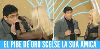 Maradona Raffaella Carrà