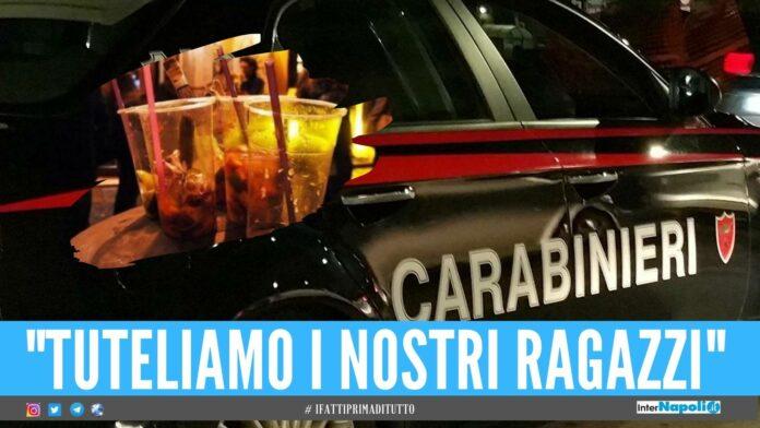 movida carabinieri locali chiusi controlli
