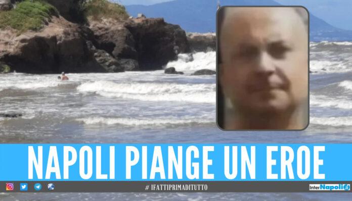Niente da fare, purtroppo. Trovato questa mattina il corpo senza vita di Carlo Riccio, 57 anni, l'uomo disperso in mare dopo essersi