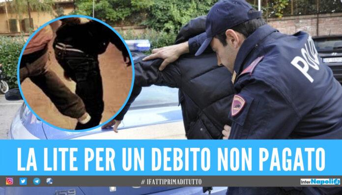 Lite in strada a Pozzuoli, padre e figlio picchiati per una bici elettrica