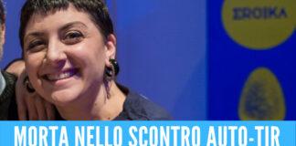 Salerno piange la giovane Chira, sbalzata dall'auto dopo lo schianto contro un tir