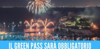 Festa di Sant'Anna a Ischia, obbligatorio il green pass per partecipare