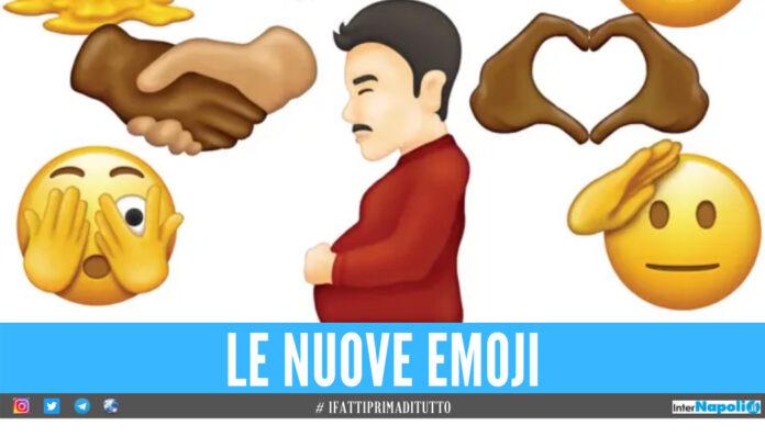 In arrivo nuove emoji sui social, è previsto anche un uomo incinto