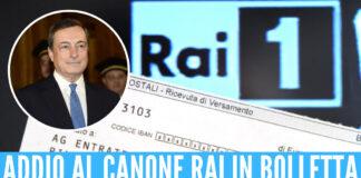 Canone Rai - Mario Draghi