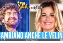 Striscia la Notizia, Alessandro Siani e Vanessa Incontrada verso la conduzione