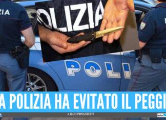 Napoli, si ribella al marito dopo una lite e lo accoltella: arrestata per tentato omicidio