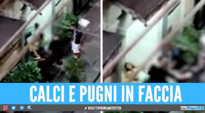 aggressione a Napoli