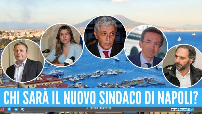 Elezioni Comunali a Napoli: Sinistra divisa in 4, Centrodestra compatto con Maresca