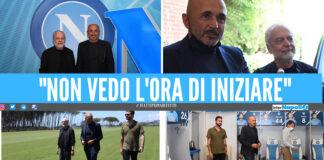 Luciano Spalletti al Napoli di Aurelio De Laurentiis
