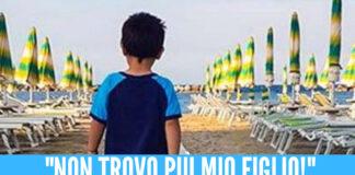 Bimbo disperso sulla spiaggia di Mondragone, lo spavento poi la gioia dei genitori