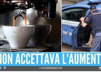 Barista schiaffeggiato per un caffè al Santuario di Pompei Ti spacco la faccia