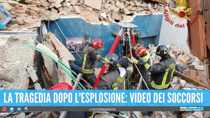 Bimbo di 4 anni muore nel crollo a Torino, 3 persone estratte dalle macerie
