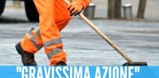 Colpito con la pistola ad aria compressa, ferito operatore ecologico nel Napoletano
