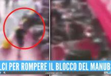 Ennesima rapina ai rider, il video dell'ultima aggressione al centro commerciale a Napoli