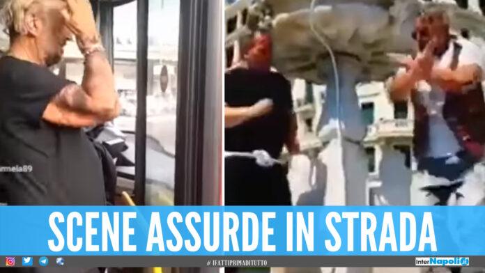 Ferma un autobus per pettinarsi e specchiarsi, il video a Napoli virale su TikTok