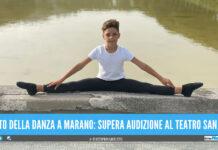 Liberato Volpe, amesso alla scuola di danza del Teatro San Paolo