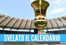 Coppa Italia, svelato il tabellone del Napoli: ostacolo Atalanta prima della Juve
