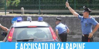 Rapine agli anziani, arrestata coppia di Afragola: uno è imputato per altri 24 colpi