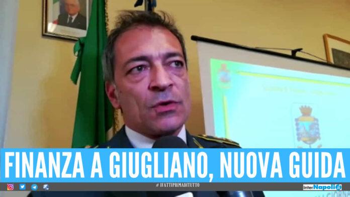 Guardia di Finanza di Giugliano, il nuovo Comandante è il Tenente Colonnello Michele Doronzo