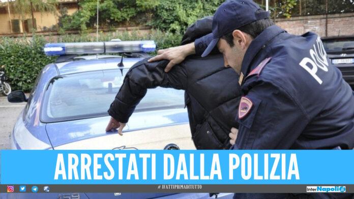Speronati, picchiati e rapinati: 3 arresti della polizia in provincia di Napoli