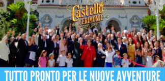Torna il 'Castello delle cerimonie', svelata la data della prima puntata