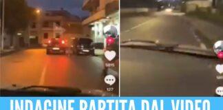 Folle corsa con la finta sirena dei carabinieri, 17enne denunciato nel Napoletano