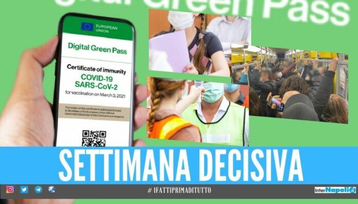 Green Pass obbligatorio per lavoro, trasporti e scuola Governo lavora al Decreto