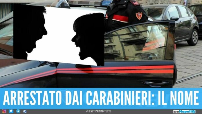 litigio familiare arrestato carabinieri nome lite famiglia