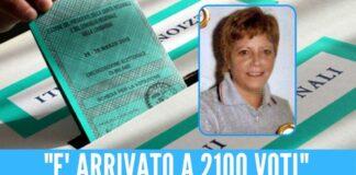Maria Licciardi appoggiò un candidato alle elezioni regionali del 2020
