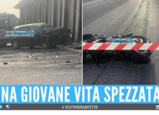 Tragedia a Giugliano, giovane motocilista muore dopo l'incidente