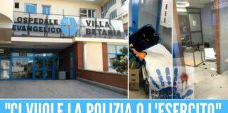 Villa Betania distrutta dopo l'omicidio di camorra, arriva la denuncia del direttore