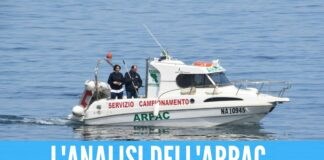 analisi arpac mare