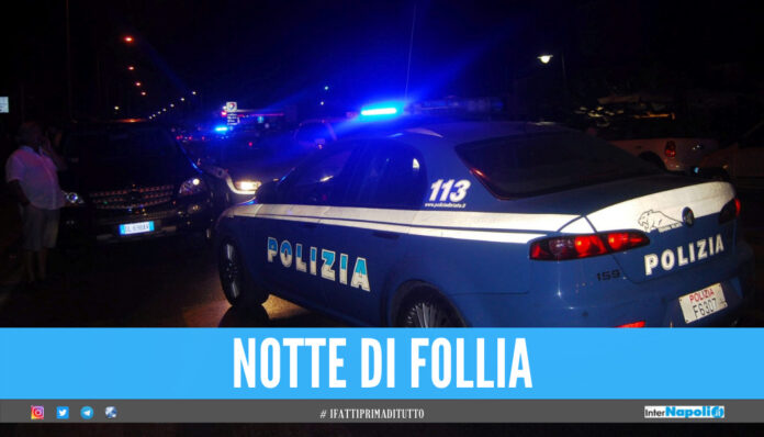 Panico in strada nel Napoletano, 40enne guida ubriaco contromano: bloccato dai poliziotti