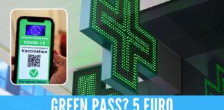 Green Pass in Farmacia