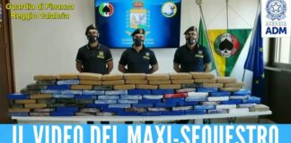 Colpo da 22 milioni di euro ai clan, scovati 108 kg di cocaina purissima