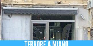 Tensione a Miano, colpi di pistola contro un negozio di parrucchieri in via Janfolla