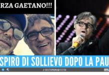 Vasco Rossi e Gaetano Curreri