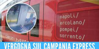Campania Express, nel cerchio foto di repertorio