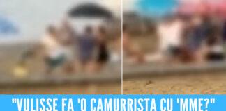 Botte da orbi sulla spiaggia libera a Scauri, volano sdraio e colpi proibiti [Video]