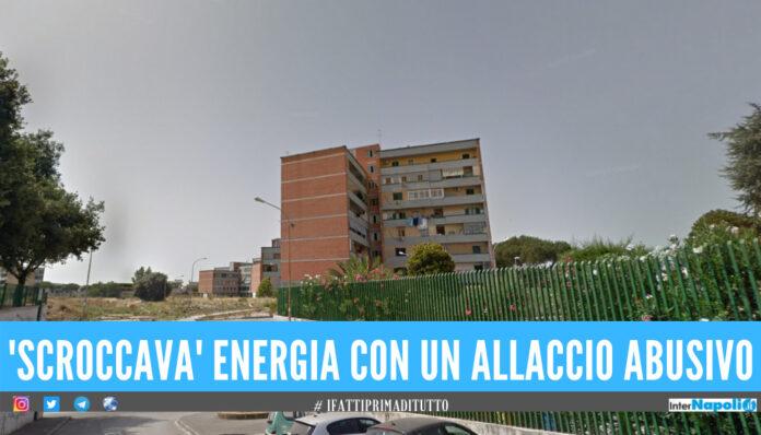 Furto di energia elettrica e appartamento abusivo, blitz dei carabinieri a Sant'Antimo