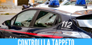Raffica di controlli a Casavatore, fermate 60 persone e 40 veicoli: scatta anche un arresto