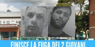 Evasione dal carcere di Pescara, finisca la fuga dei 2 detenuti: erano nascosti nel quartiere