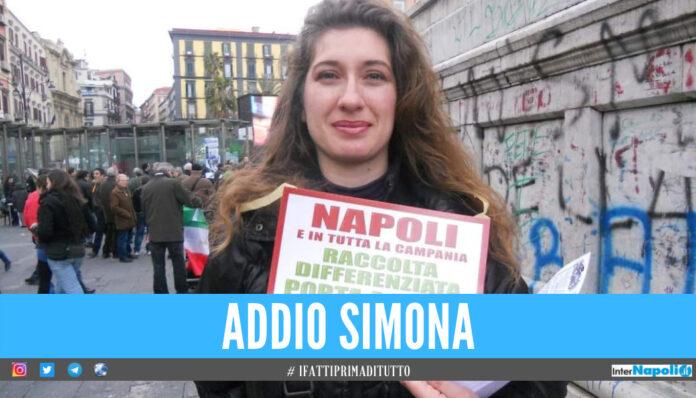 Lacrime di dolore a Napoli, Simona uccisa da un brutto male: faceva da guida turistica in città