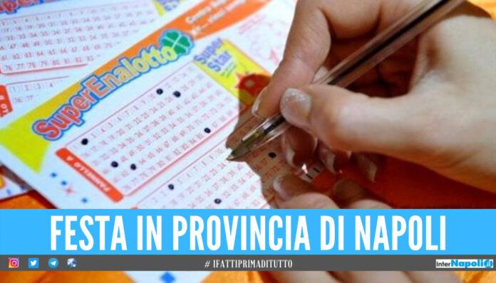 Lotto - la fortuna fa tappa in provincia di Napoli, vinti oltre 21mila al SuperEnalotto con un '5'