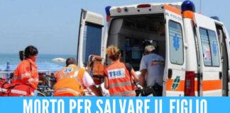 Tragedia sulla spiaggia di Ischitella, Michele muore per salvare il figlio in acqua
