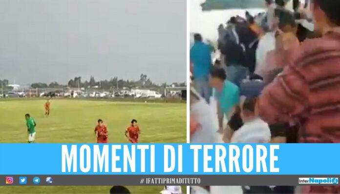 Follia durante la partita in Messico, sparatoria con morti e feriti [Video]